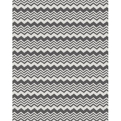 Hampton Grey Area Rug Rug Size: 33 x 411