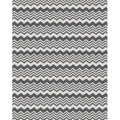 Hampton Grey Area Rug Rug Size: 79 x 11