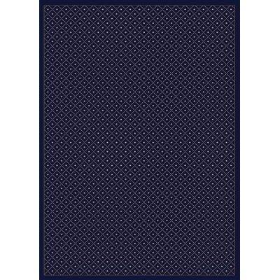 Colebrook Navy Blue Area Rug Rug Size: 33 x 411