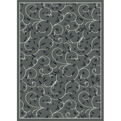Franklin Grey Area Rug Rug Size: Rectangle 55 x 77