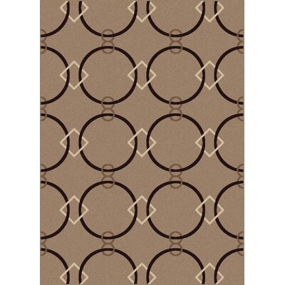 Franklin Beige Area Rug Rug Size: Rectangle 55 x 77