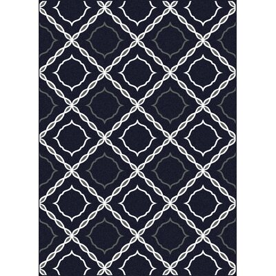 Franklin Blue Area Rug Rug Size: 33 x 411