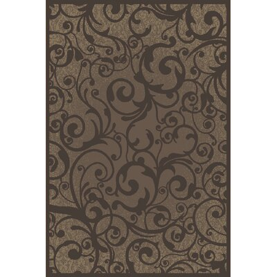 Aberdeenshire Brown Area Rug Rug Size: Rectangle 53 x 73