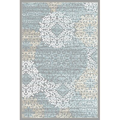 Ackermanville Gray Area Rug Rug Size: 710 x 106