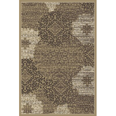 Ackermanville Beige Area Rug Rug Size: Rectangle 53 x 73