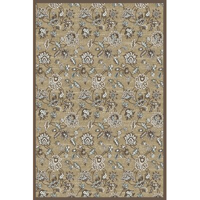 Ackermanville Beige Area Rug Rug Size: Rectangle 710 x 106