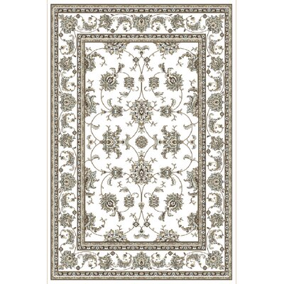 Ackermanville Bone Area Rug Rug Size: Rectangle 710 x 106