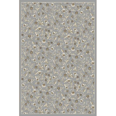 Ackermanville Gray Area Rug Rug Size: 33 x 411