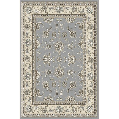 Ackermanville Gray Area Rug Rug Size: Round 710