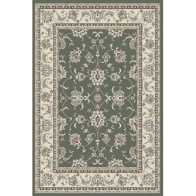 Ackermanville Green Area Rug Rug Size: Rectangle 710 x 106