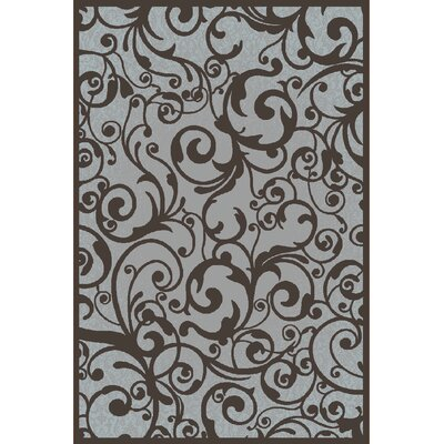 Aberdeenshire Gray Area Rug Rug Size: 33 x 411