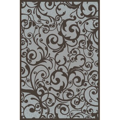 Aberdeenshire Gray Area Rug Rug Size: 53 x 73