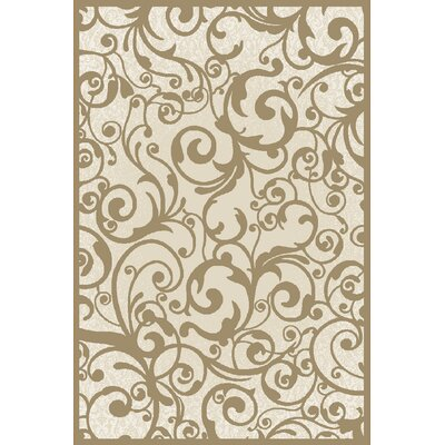 Aberdeenshire Ivory Area Rug Rug Size: Rectangle 710 x 106
