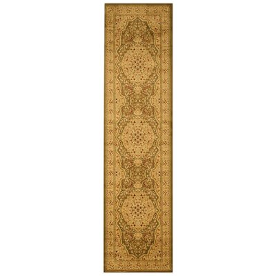 Madison Tan Area Rug Rug Size: Runner 27 x 910