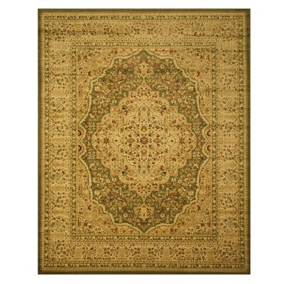 Madison Tan Area Rug Rug Size: Rectangle 53 x 77
