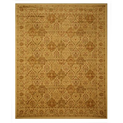 Pomfret Gold Area Rug Rug Size: Rectangle 53 x 77