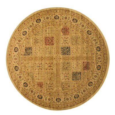 Madison Brown Area Rug Rug Size: Round 53