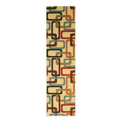 Pinecrest Ivory Area Rug Rug Size: Runner 27 x 910