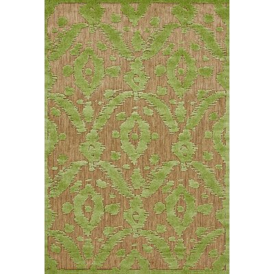 Monroe Green Indoor/Outdoor Area Rug Rug Size: Round 79