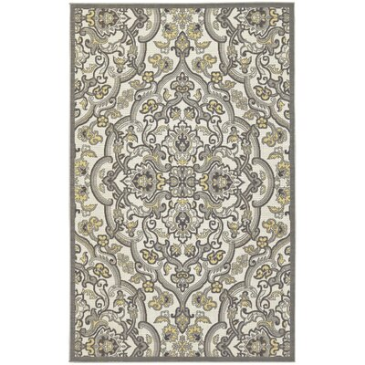 Hillyard Citron Area Rug Rug Size: Rectangle 5 x 8