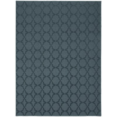 Edith Blue Area Rug Rug Size: 5 x 7