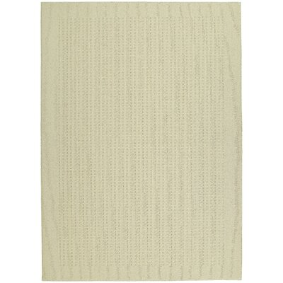 Ivory Area Rug Rug Size: 76 x 96