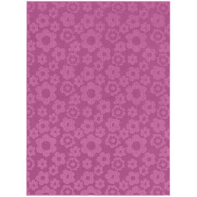 Molly Pink Indoor/Outdoor Area Rug Rug Size: 76 x 96
