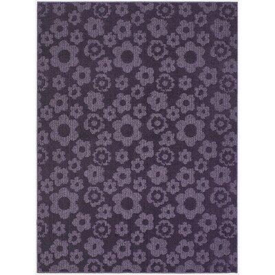 Suzanne Purple Indoor/Outdoor Area Rug Rug Size: 76 x 96
