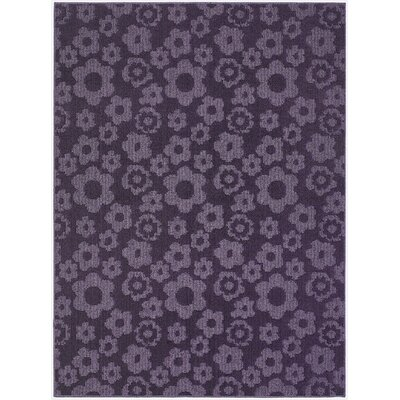 Suzanne Purple Indoor/Outdoor Area Rug Rug Size: 5 x 7