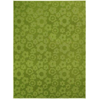 Arianna Green Indoor/Outdoor Area Rug Rug Size: 76 x 96