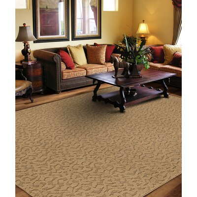 Edith Beige Area Rug Rug Size: Square 12