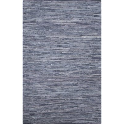 Newman Hand-Woven Blue Area Rug Rug Size: 9 x 12