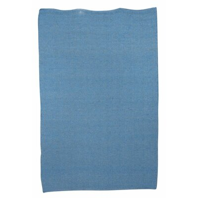 Newburgh Hand-Woven Blue Area Rug Rug Size: Rectangle 53 x 76