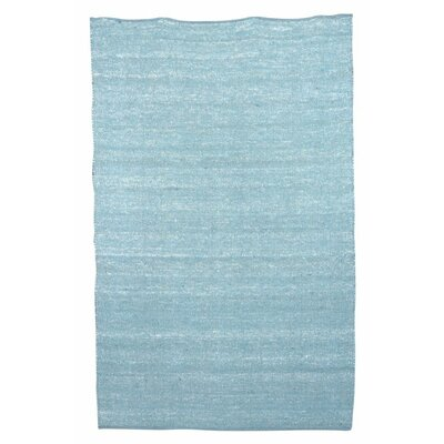 Newburgh Hand-Woven Blue Area Rug Rug Size: 53 x 76