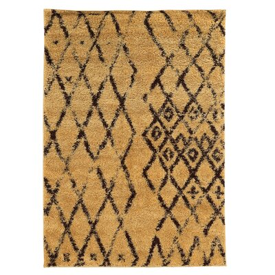 Westland Camel/Brown Area Rug Rug Size: Rectangle 5 x 7