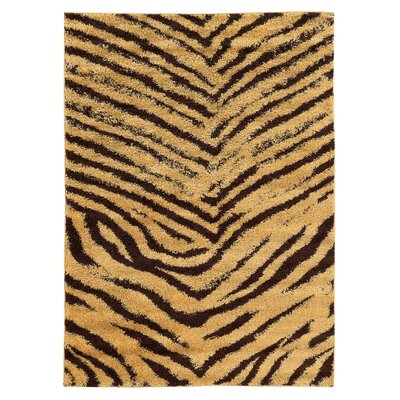 Westland Camel/Brown Area Rug Rug Size: Rectangle 3 x 5