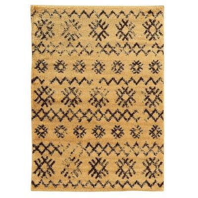 Westland Camel/Brown Area Rug Rug Size: 5 x 7