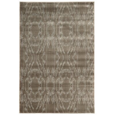 Lucinda Dark Brown Area Rug Rug Size: 2 x 3
