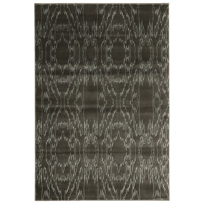 Lucinda Charcoal Area Rug Rug Size: Rectangle 8 x 10