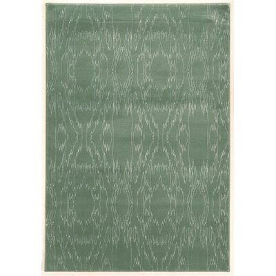 Lucinda Aqua Area Rug Rug Size: Rectangle 5 x 7