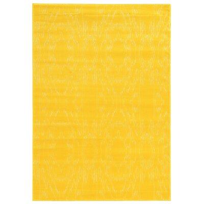 Lucinda Yellow Area Rug Rug Size: 8 x 10