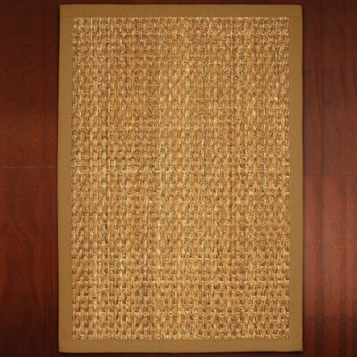 Abigail Hand-Woven Brown Area Rug Rug Size: Rectangle 2 x 3