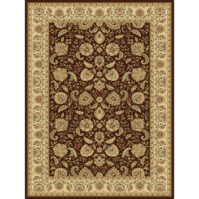Dexter Brown Area Rug Rug Size: 910 x 1210