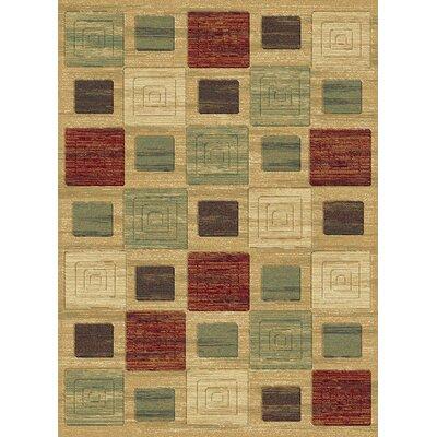 Sanderson Multi Area Rug Rug Size: 53 x 77