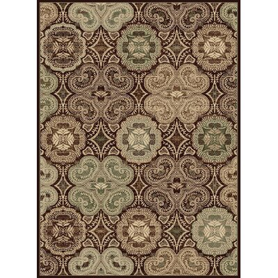 Crawford Dark Wine Area Rug Rug Size: 33 x 53