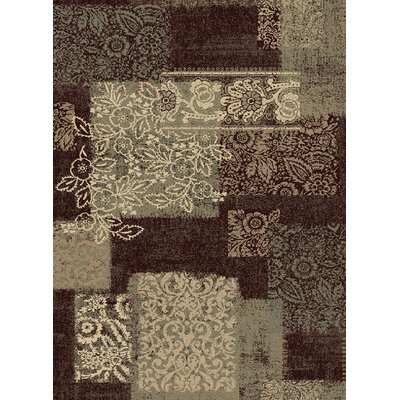 Crawford Dark Wine Area Rug Rug Size: 710 x 910