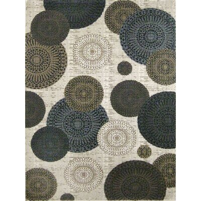 Denver White Area Rug Rug Size: 711 x 1010