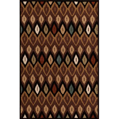 Hadfield Chestnut Area Rug Rug Size: 5 x 76