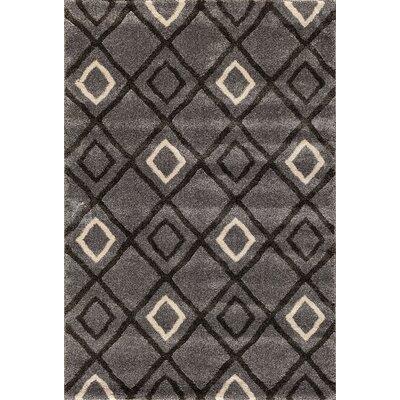 Sullivan Silver/Black Area Rug Rug Size: 5 x 76