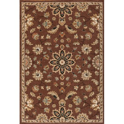 Hadfield Chestnut Area Rug Rug Size: 710 x 910